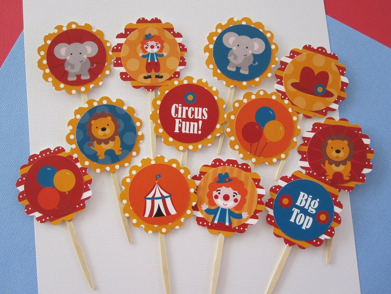 Circus Tags ~ Thank You Tags ~ Hanging Tags