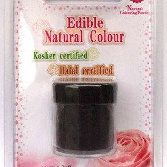 Black Natural Coloring Powder Vegetable Carbon Food Coloring Etsy