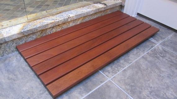 Ipe Wood Floor Mat Etsy
