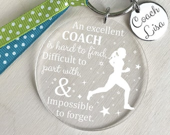 Track Coach Gift, Running Coach Gift, Track and Field Coach Gift, Track Coaches Gift, Running Coaches Gift, Track Coach Keychain
