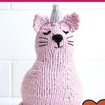 Unicorn Cat *PDF* Knitting Pattern