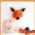 Fox Head *PDF* Knitting Pattern