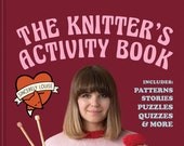 The Knitter's Activity Book by Sincerely Louise - Signed Copy