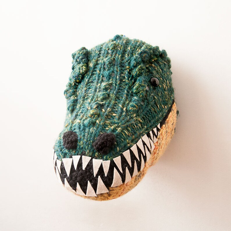 T-Rex PDF Knitting Pattern | Etsy