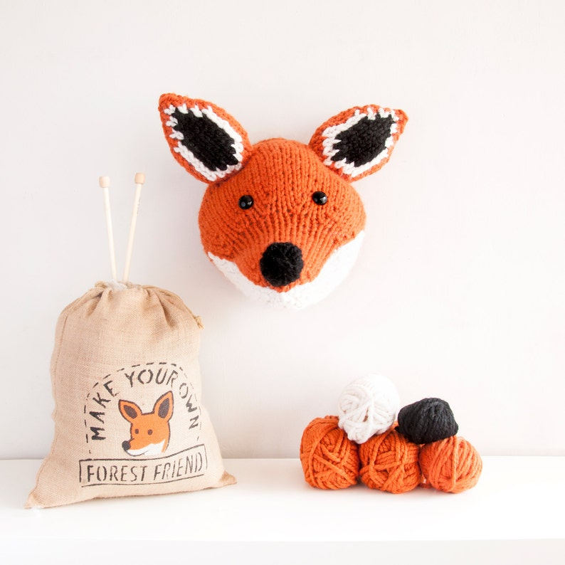 Knit Your Own Fox Head image 0