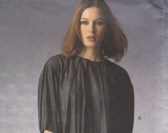Laroche Blouse & Skirt Pattern Vogue 1372 Sizes 6 8 10 12 14 Uncut
