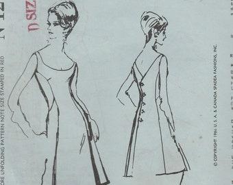 Irene Gilbert Dress Pattern Spadea N-1216 Size 14