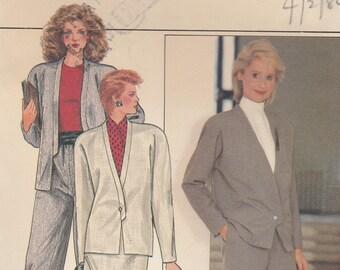 Butterick Sewing Pattern 4713 Misses Jacket Pants 6-22 UNCUT Vintage OOP FF