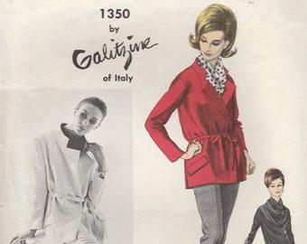Galitzine Jacket, Blouse & Pants Pattern Vogue 1350 Size 12
