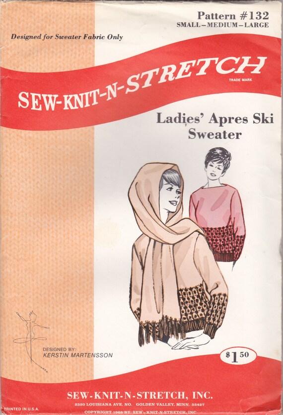 Damen genäht Pullover Muster nähen-stricken-N-Stretch Muster | Etsy