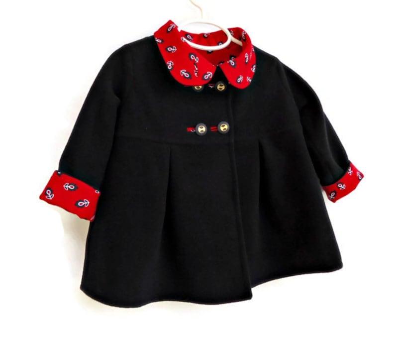 fc125e0a6 Toddler Girls Winter Coat Custom Designed Outerwear