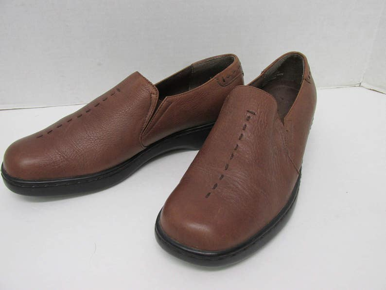 00b4acec77ef7 vintage,Leather shoes,oxford shoes ,Worthington ,size 8 womens,new  condition ,hipster,retro , laced leather shoes , 1+ 1/2 inch heel, preppy