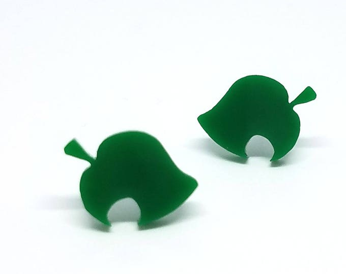 Animal Crossing New Leaf Furniture Symbol Earrings | Laser Cut Jewelry | Hypoallergenic Studs | Acrylic Jewelry