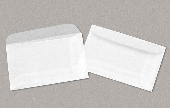 "Supply Storage 100 Glassine Envelopes 1-3//4 x 2-7//8 Inch /""No.1/"" Size; Ungummed"