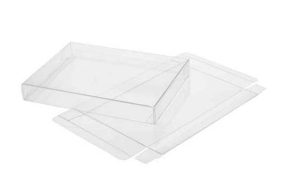 25 clear greeting card boxes 7 18 x 1 x 7 116 m4hsunfo