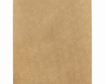 25 Small Kraft Bitty Bags in Solid Kraft - 2.75 x 4 inches, Suitable for Stamping