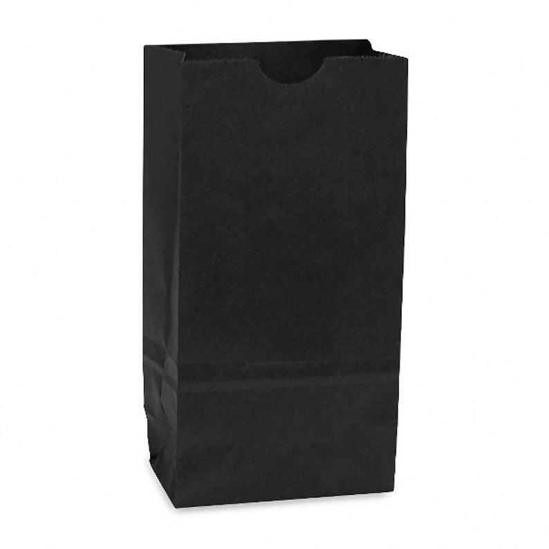 Lots of 1000 Black Chevron Merchandise Bags Gift Bags Store Bags Paper Bags