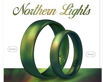 Flexible Silicone Ring Wedding Engagement Ring Men/'s Women/'s Anniversary Gift