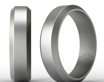 Athlete S Favorite Knot Theory Silicone Wedding Rings By Knotheory
