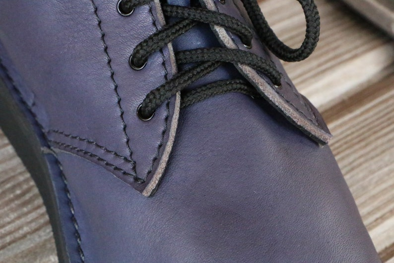 Leather Ankle Boots Chicago Custom Handmade in USA