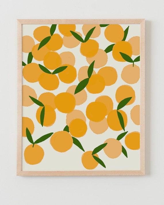 Fine Art Print.  Clementines.  December 22, 2011.