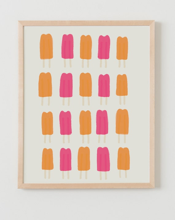 Fine Art Print.  Popsicles.  September 30, 2011.
