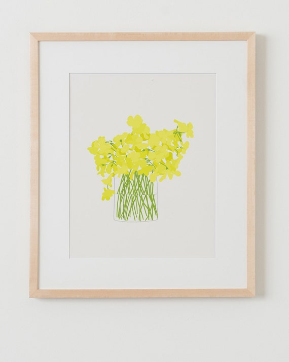 Fine Art Print.  Wildflower Bouquet.  March 14, 2013.