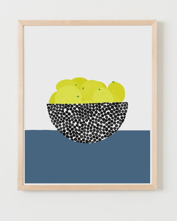Fine Art Print.  Still Life with Lemons.  June 18, 2020.