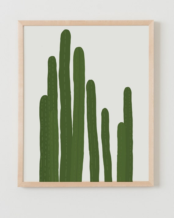 Fine Art Print.  Cactus.  October 21, 2015.