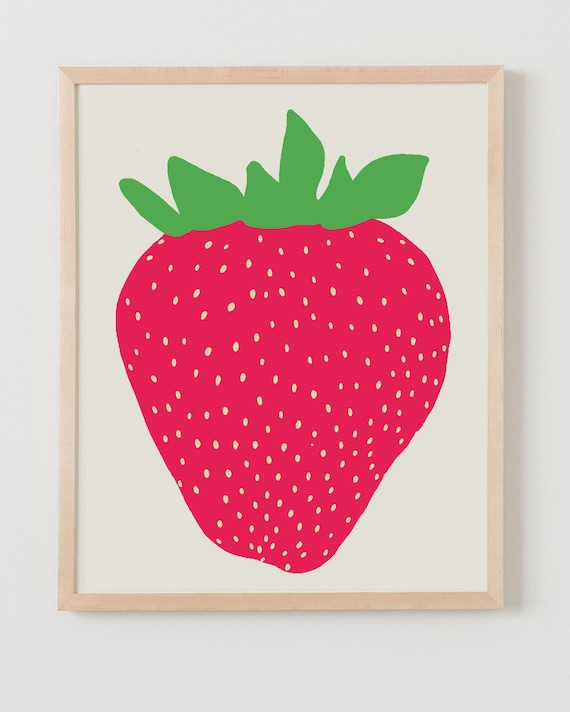 Fine Art Print.  Strawberry.  May 14, 2012.