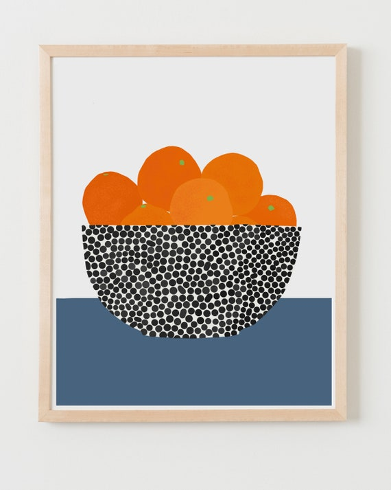 Fine Art Print.  Still Life with Oranges.  June 16, 2020.