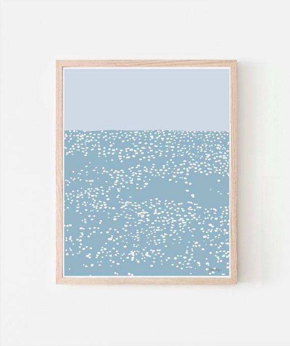 Sunlight on the Water Art Print. Signed. Available Framed or Unframed. 120807.