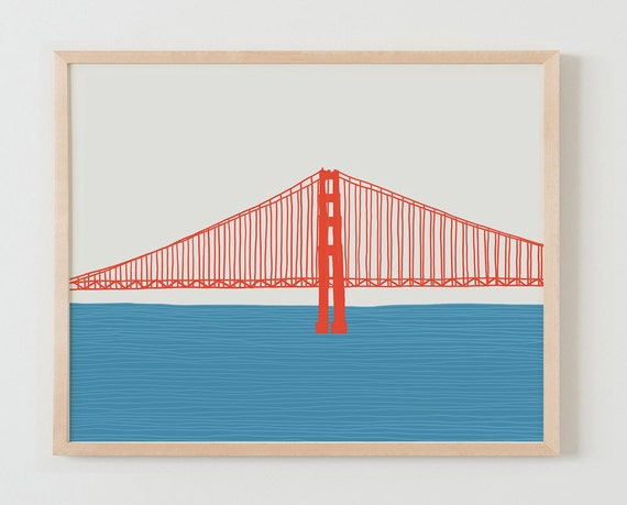 Fine Art Print.  Golden Gate Bridge. March 23, 2015.