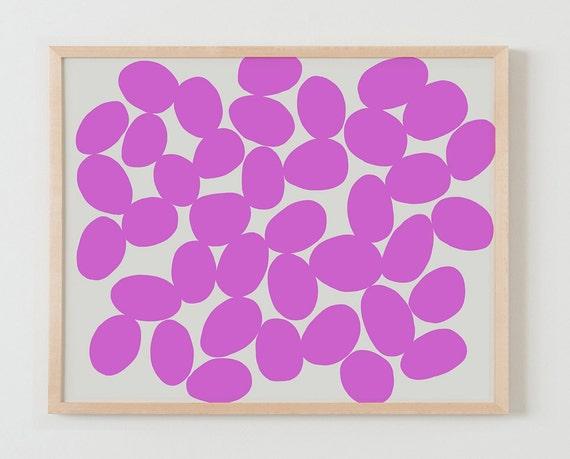 Fine Art Print.  Pink Dots. February 29, 2016.
