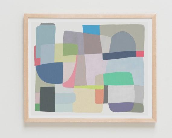 Fine Art Print.  Abstract, May 14, 2018