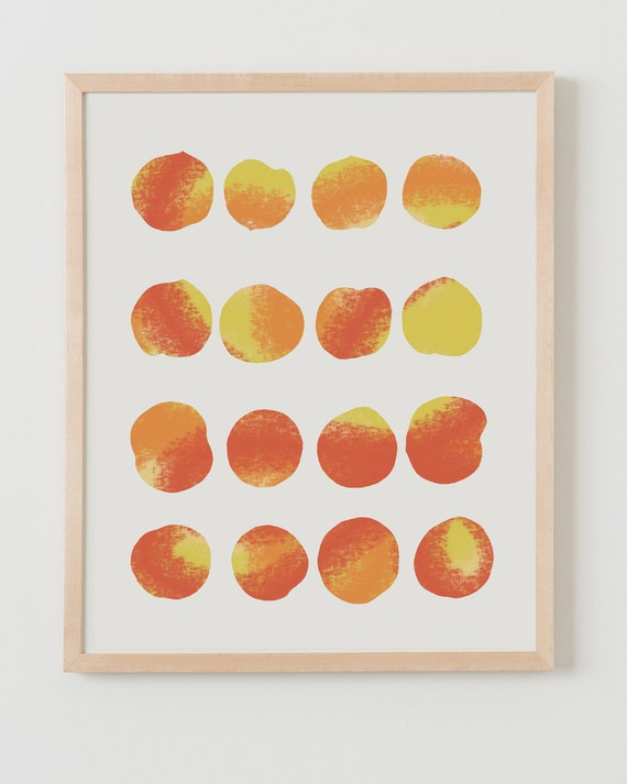 Fine Art Print.  Peaches.  July 24, 2012.