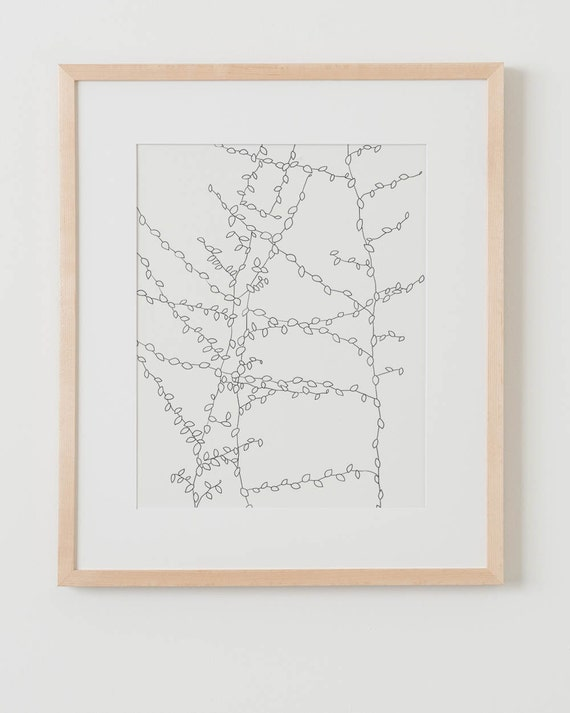 Fine Art Print.  Vine.  July 28, 2014.