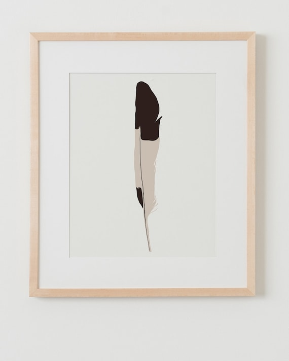 Fine Art Print.  Feather. December 9, 2014.