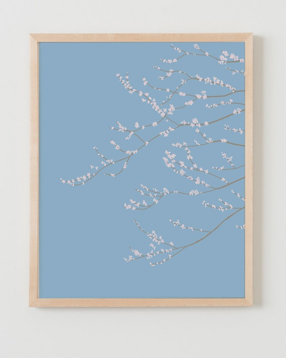 Fine Art Print. Cherry Blossoms.  January 26, 2012.