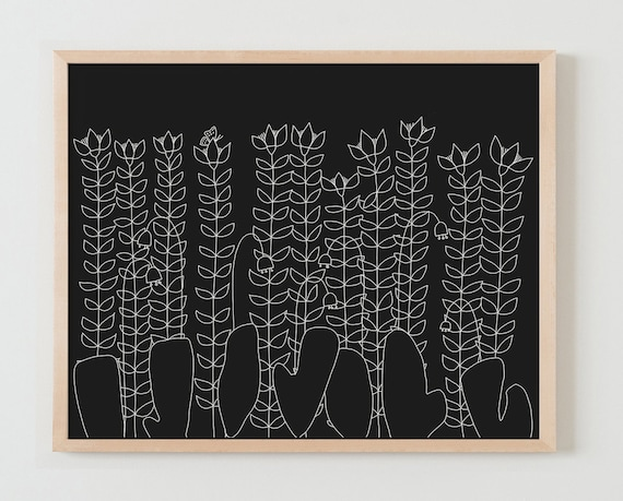 Fine Art Print.  Flowers. November 3, 2015.