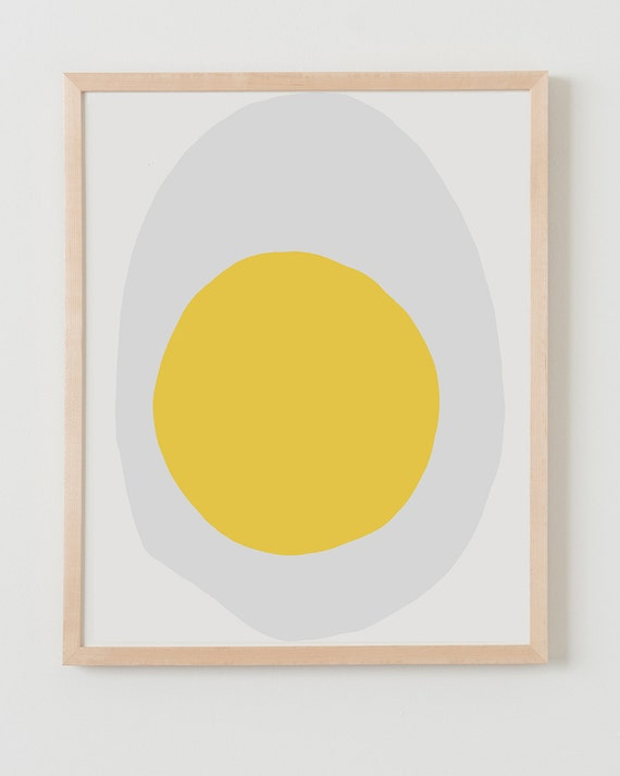 Fine Art Print. Egg. Available Framed or Unframed.