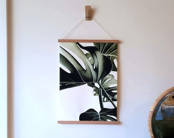 A3 Size Magnetic Wooden Print Poster Hanger