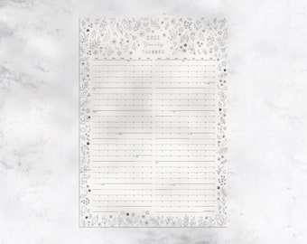 2021 Yearly Wall Planner ON SALE