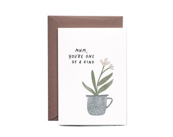 Mother's Day Greeting Card ONE OF A KIND