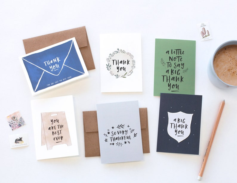 Mini Thank You Pack A Little Note