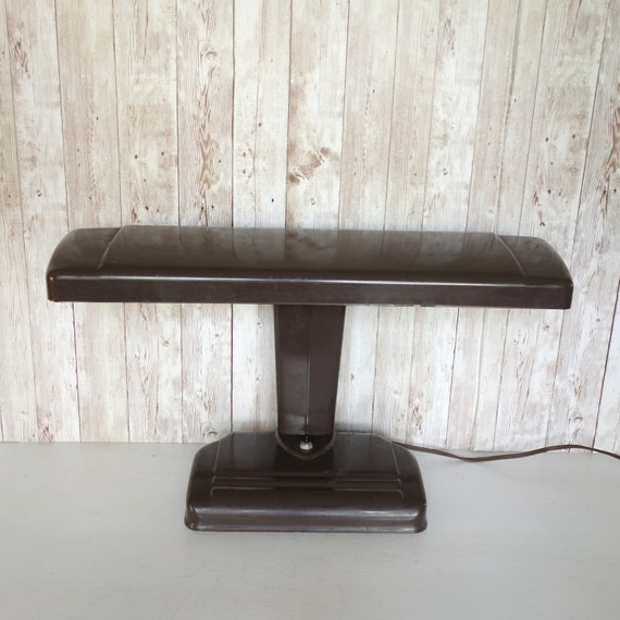 Strange Vintage Metal Industrial Desk Lamp Retro Moe Light Art Deco Moderne Office Lamp Airplane Wing Movie Stage Prop Caraccident5 Cool Chair Designs And Ideas Caraccident5Info