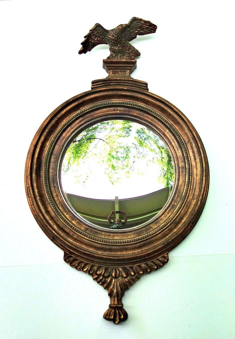 Vintage Convexo Espejo-Fisheye//ojo De Buey