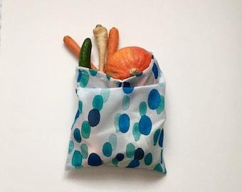1 Water Safe VEGAN Zero Waste Shopping Bag