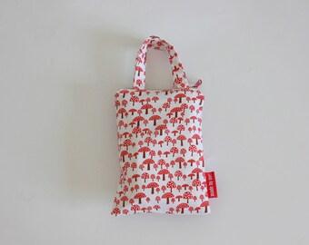 Set of Reusable Eco Bags for Bulk Shopping / 4 Shopping Bags With a Pouch / Set of Reusable Bags for Bulk Produce Shopping