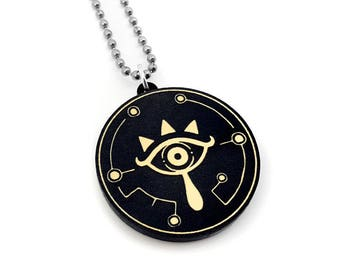 Breath of the Wild Sheikah Necklace from Legend of Zelda